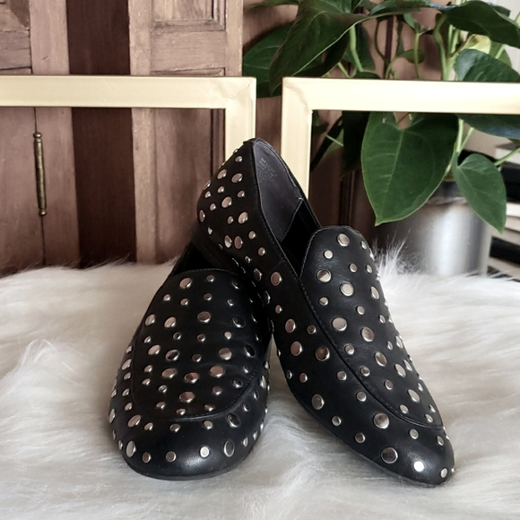 Kenneth Cole Studded Loafers